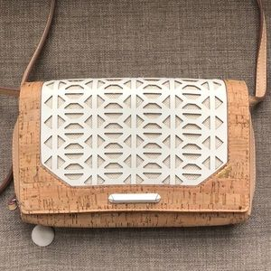🆕 Stella & Dot Nolita Geo Cork Crossbody